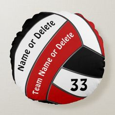 Volleyball Bedroom, Volleyball Gifts, Volleyball Players, Beach Volleyball, Little Linda, Senior Night Gifts, Senior Picture Outfits, Round Pillow, Team Gifts