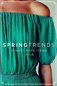 Top 6 Spring Fashion Trends   eBay