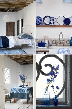 Get Inspired and Add a Touch of Blue in Your Home | 79 Ideas