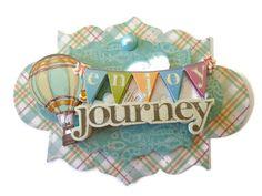 Journey 3D Scrapbook Embellishment Paper piecing by itsmemanon