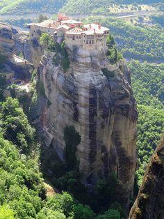 Kalambaka Monastery, Greece