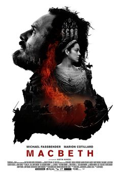 Official poster for Macbeth, starring Michael Fassbender and Marion Cotillard