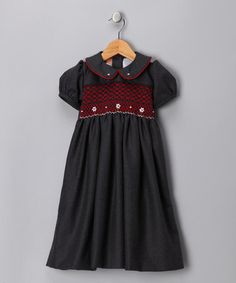 Maybe I'm old fashioned but I love smocked dresses for little girls.