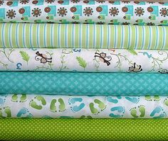 Half Yard Bundle of Grow With Me designed by by SistersandQuilters, $28.00
