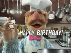Happy Birthday, Swedish Chef Style! - YouTube