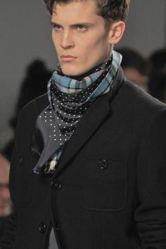 Interpretation of accessories #4: Hermes Men's Scarf