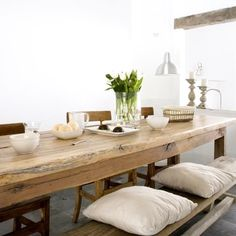 Lusting over this timber dining table
