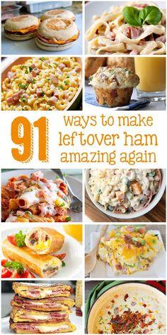 Leftover ham recipes!