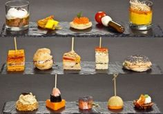 1000 images about scrumptious canap s on pinterest for French canape menu