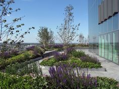 Roof Terrace at Ropemaker Place. - Google Search
