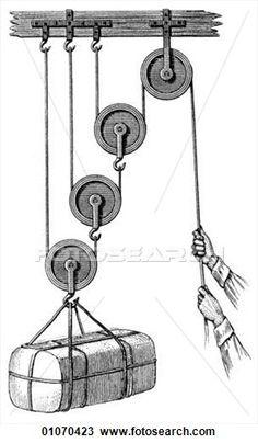 wetenschap, &, geneeskunde, -, lijnen kunst, (Scientific), fysica, mechanisch, macht, katrol, archimedes, (287-212, BC), wie, gewerkte, uit, de, principe, van, de, hefboom, en, anderen, eenvoudige, machines, gedemonstreerd, hen, door, het trekken, een, scheeps, op, land, door, himself., hij, gezegd, van, de, principe, van Bekijk Grotere Illustratie