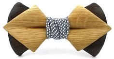 Wooden Bow Tie - Uniquely Handcrafted - Ella Bing