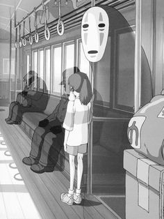 Chihiro y sin cara // El viaje de chihiro - Sen to Chihiro no kamikakushi