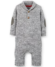 Carter's Baby Boys' Heathered Jumpsuit