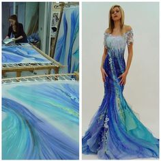 BLANKA MATRAGI в Instagram: «Creating a Mermaid Dress .... is a long process. Do you like blue? . . @blanka_matragi_designer . @blankamatragiboutique . #blankamatragi…» Prom Dresses, Formal Dresses, Mermaid, Create, Pant Suits, Blue, Beautiful Dresses, Instagram, Design