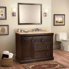 Jamesport Meuble-lavabo simple
