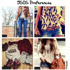 """Preferences: What you are wearing when you two first meet."""" - Luke, Ashton, or Calum 5sos Inspired Outfits, 5sos Outfits, Band Outfits, New Outfits, Cute Outfits, 5sos Preferences, 5sos Imagines, Casual Cosplay, 1d And 5sos"""