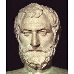 Thales de Mileto: Es considerado el primero filósofo occidental ya que intento dar una explicación física del Universo. Nació en Mileto ( 625/624 a. C.) - Murió en ibídem (547/546 a. C.) Fue el iniciador de la Escuela de Mileto y en la antigüedad se le consideraba uno de los Siete Sabios de Grecia. Destaco como filósofo, astrónomo y en la geometría.