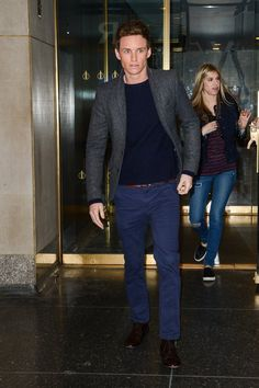Pin for Later: It's Official: No One Wears a Suit Better Than Eddie Redmayne  This too.