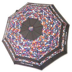 Parapluie automatique 'Ted Lapidus' marron violet