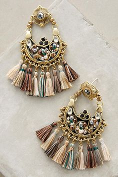 Eventail Fringe Drops - anthropologie.com