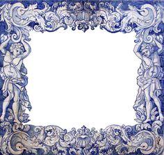 Image result for moldura de azulejo
