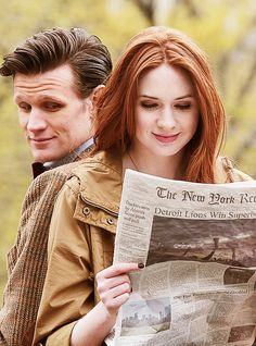 I love them together. I miss the Ponds so much and I'm going to miss Eleven so, so much.