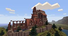 awesome minecraft builds | 11 Incredible Skyrim-Inspired Minecraft Builds