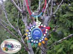Macrame Necklace, Hotmail Fr, Dream Catcher, Etsy, Christmas Ornaments, Hdr, Holiday Decor, Menu, Necklaces