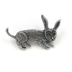 mina perhonen bunny pin ブローチ annie antiquesilver