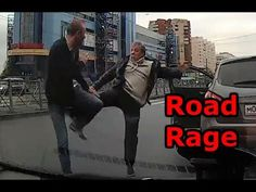 Road Rage #15 fight collection from Russian spectacular crashes
