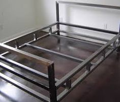 Image result for steel welded bed frame
