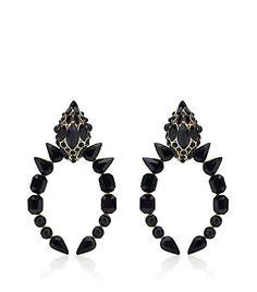 Roberto Cavalli - Swarovski Snake Head Earrings