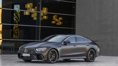 Famous Speed ​​Lovers: 4-Door 'Mercedes AMG GT' Introduced! Mercedes presented the 4-door Coupe version of the AMG GT at the Geneva Motor Show. What does the new AMG stand out for its high performance?
