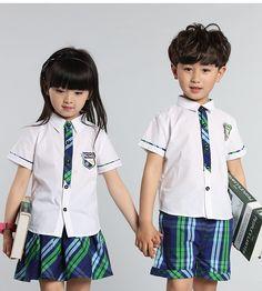 $27.50 (Buy here: https://alitems.com/g/1e8d114494ebda23ff8b16525dc3e8/?i=5&ulp=https%3A%2F%2Fwww.aliexpress.com%2Fitem%2FNew-Summer-Uniforms-Boys-and-Girls-Kindergarten-Children-Wear-Short-Sleeved-Bow-Kids-Two-Pieces-Clothing%2F32658351420.html ) New Summer Uniforms Boys and Girls Kindergarten Children Wear Short Sleeved Bow Kids Two Pieces Clothing Sets for just $27.50