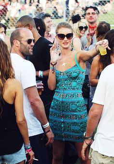 Jason Statham and Rosie Huntington.