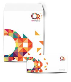 OR media  |   Identidad Corporativa by Jesus Valenzuela, via Behance