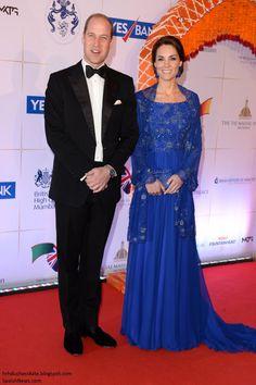 hrhduchesskate: Royal Tour 2016-Bollywood Reception, Mumbai, India, April 10, 2016-The Duke and Duchess of Cambridge