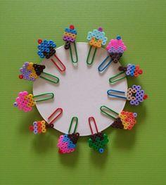Sweet perler paper clip