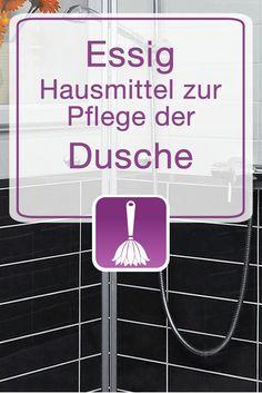 Essig – Hausmittel zur Pflege der Dusche Reading Room Decor, Belleza Diy, Diy Cleaning Products, Cleaning Diy, Blog, Household Tips, Aloe Vera, Easy, Recycling