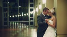 A sweet Christmas wedding at the Oklahoma History Center.  Personal vows + father of the groom performing the ceremony = not a dry eye in the house. #wedding #video #weddingvideo #PenWeddings