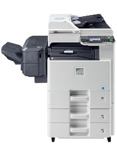 In addition to the new monochrome units, Kyocera added the ECOSYS FS-C8520MFP and FS-C8525MFP A3 machines