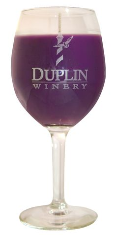 Duplin Wine Glass Muscadine Candle