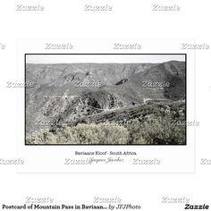 Postcard of Mountain Pass in Baviaans Kloof