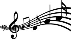 Silhouette, Musical, Note, Clef