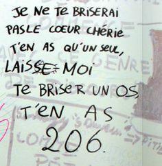 Tags de toilettes, fac de Rennes 2. Via l'article de Bikini Mag.