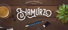 Des1gn ON | 7 Fontes Novas que você não pode ficar sem - Junho 2016 - Hamurz free font
