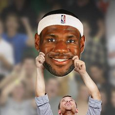 LeBron James Big Head  | Cleveland Cavaliers Game Day