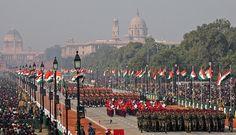 India Republic Day: 26 January. New Delhi