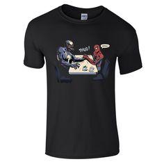 Spiderman Venom Arm Wrestle T-Shirt